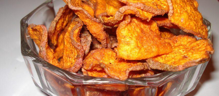Sirovi čips od batata