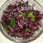 Salata od cikle i crvenog kupusa