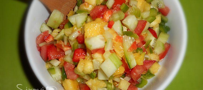 Šarena salata s mangom