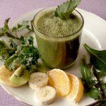 Zeleni kašasti sok za detoksikaciju