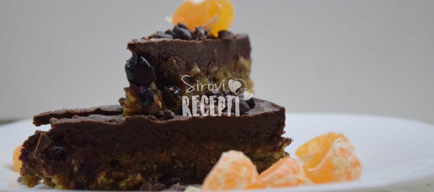 Energetska zdrava sirova torta – Black pearl
