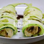 Cannelloni od tikvica punjeni sirom od suncokretovih sjemenki i mariniranih gljiva - Sirovi recepti